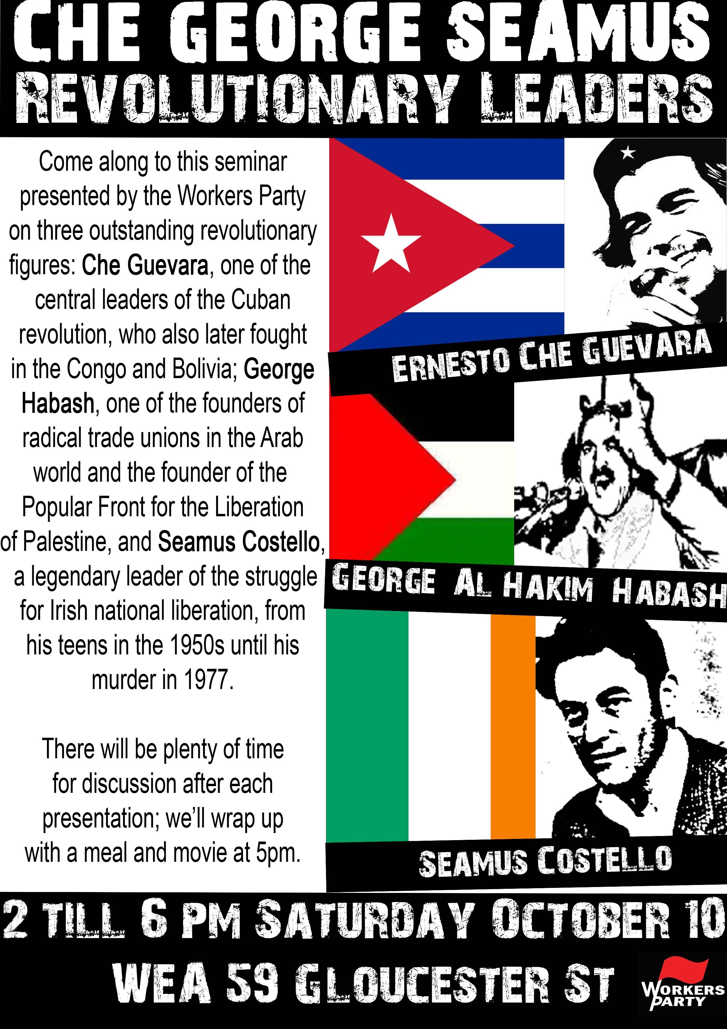 Revolutionary leaders
